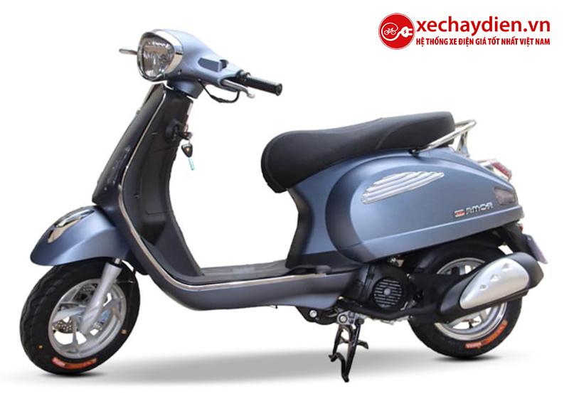 Xe ga 50cc Roma SE chính hãng DKBIKE màu bạc