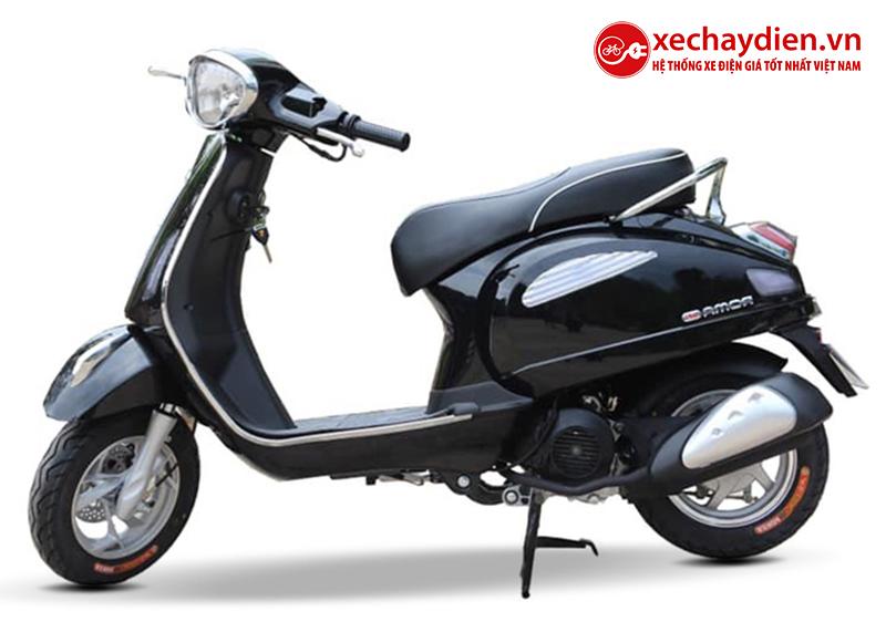 Xe ga 50cc Roma SE chính hãng DKBIKE màu đen