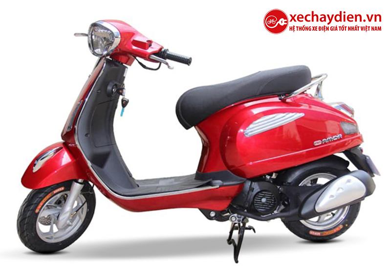 Xe ga 50cc Roma SE chính hãng DKBIKE màu đỏ