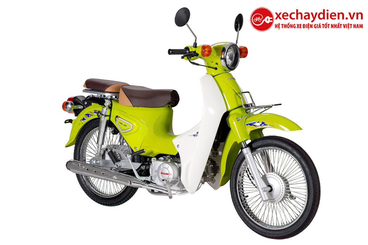 Xe Cub Halim 50cc 2021 Màu Xanh Nõn Chuối