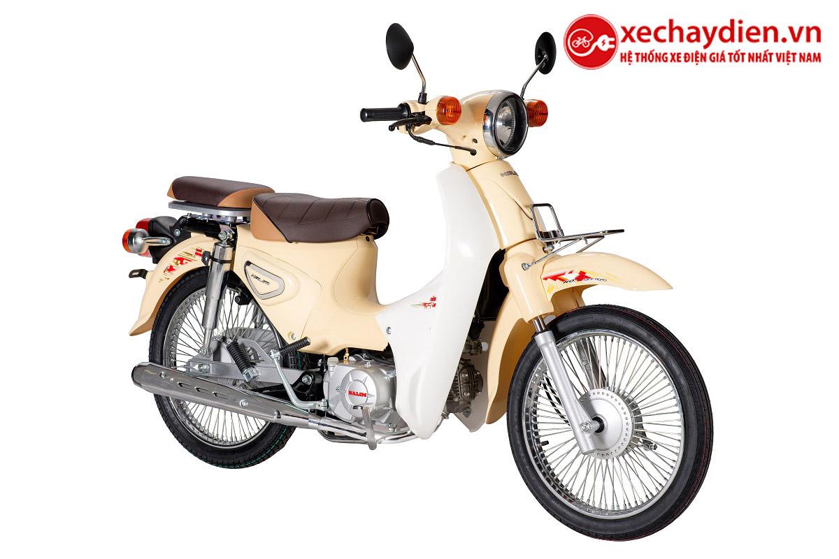 Xe Cub Halim 50cc 2021 Màu Vàng Kem
