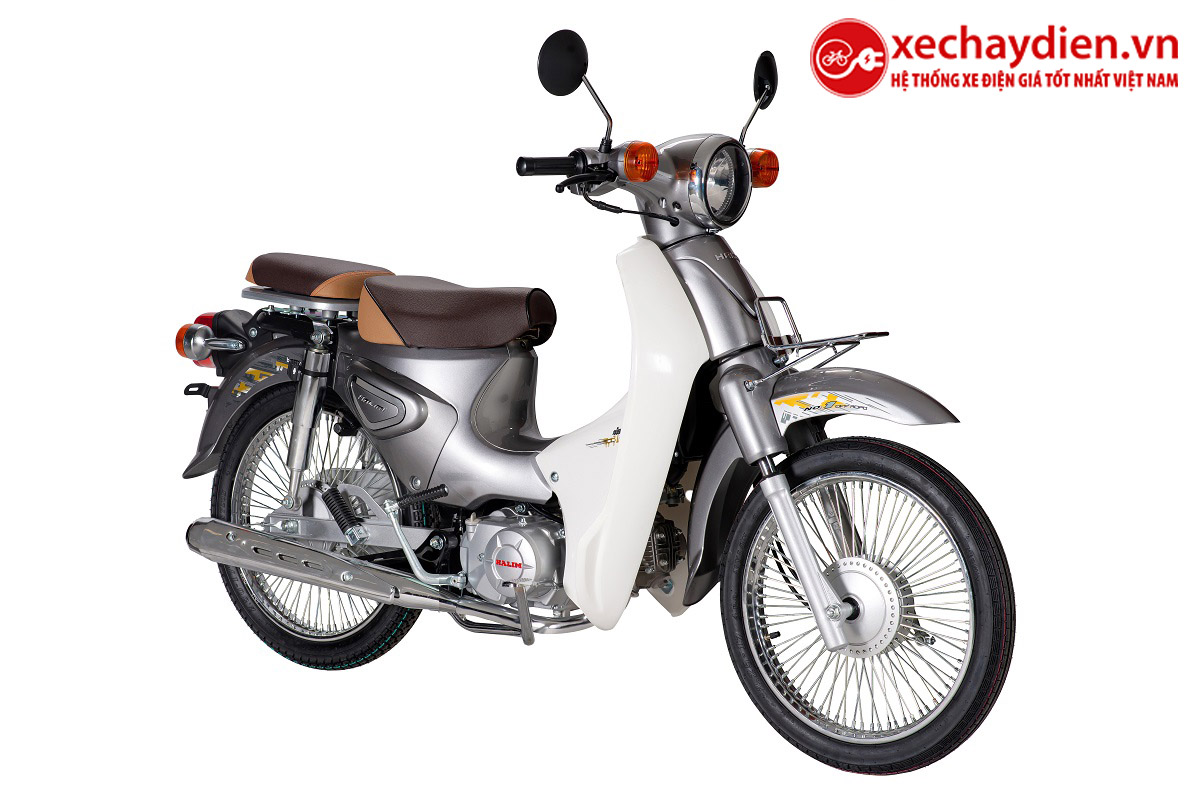 Xe Cub Halim 50cc 2021 Màu Xám
