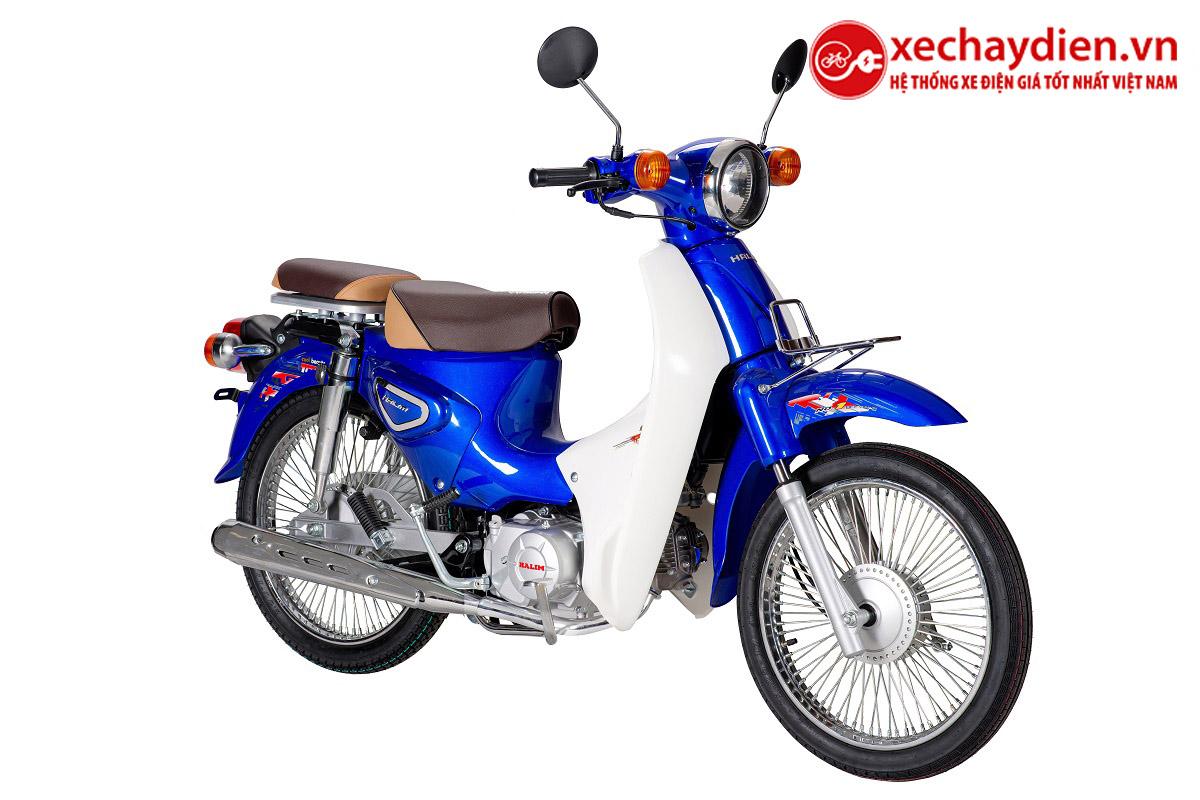 Xe Cub Halim 50cc 2021 Màu Xanh Dương