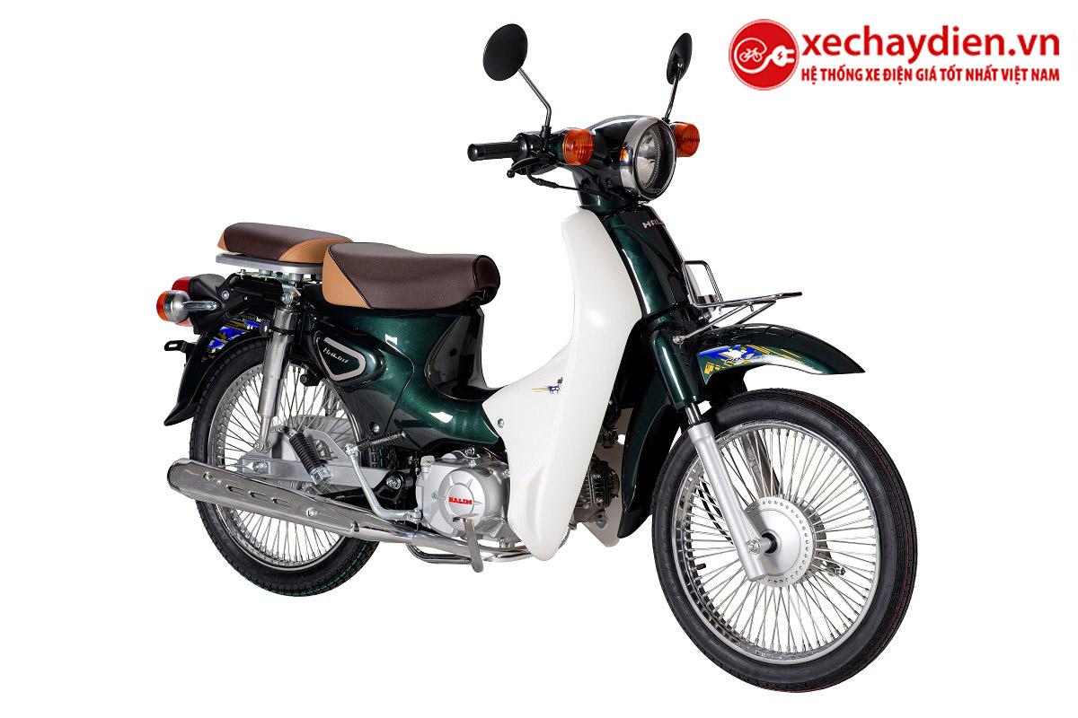 Xe Cub Halim 50cc 2021 Màu Xanh Lục Bảo
