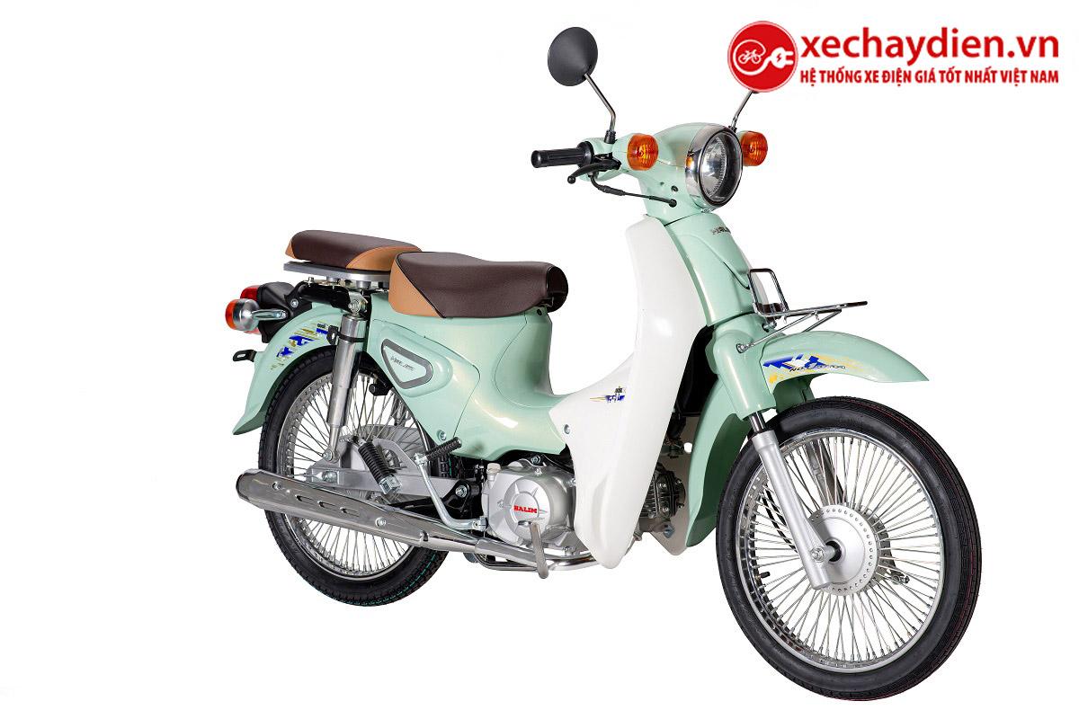 Xe Cub Halim 50cc 2021 Màu Xanh Ngọc