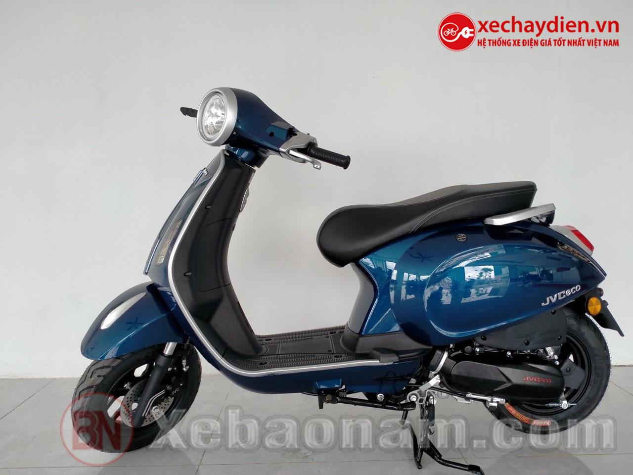 Xe ga 50cc JVC Eco Màu Xanh Cửu Long